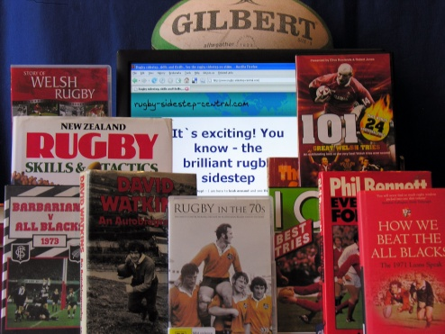Rugby information - websites, books, tapes, DVDs